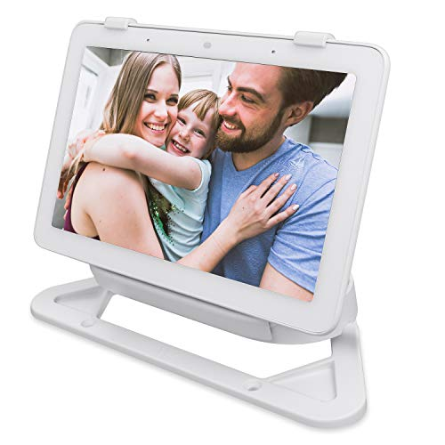 Wasserstein Stand and Adjustable Mount Compatible with Google Nest Home Hub (Chalk)