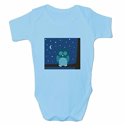 Funny Baby Grows Cute Baby Clothes for Baby Boy Body Vest Night Owl