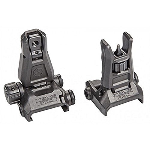 Magpul MBUS PRO Steel Sight Set MAG275 & MAG276 Black