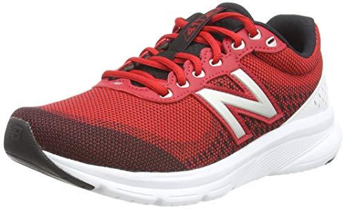 New Balance 411v2, Zapatillas para Correr Hombre, Team Red, 45 EU