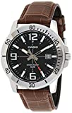 Casio Enticer Men Analog Black Dial Men's Watch - MTP-VD01L-1BVUDF(A1370)