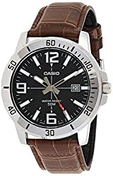 Casio Enticer Analog Black Dial Men's Watch - MTP-VD01L-1BVUDF (A1370),Casio,MTP-VD01L-1BVUDF (A1370)
