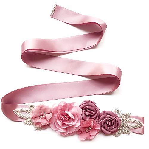 Boyfriend Cardig TININNA - Cinturón de mujer con cristales brillantes para boda,...