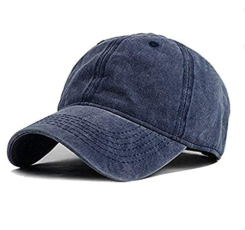 Wennmole Unisex Jungen Mädchen Mütze Baseball Cap Hut Baby Kleinkind Kinder Kappe (Marine, 2-7 Jahre)
