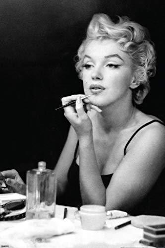 Pyramid America Marilyn Monroe Makeup Mirror Movie Cool Wall Decor Art Print Poster 24x36
