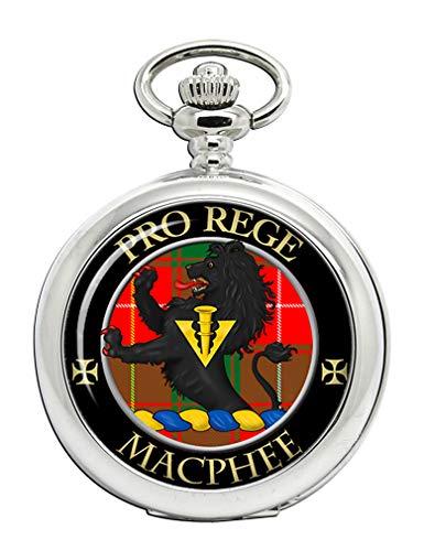 Macphee (moderno) Clan Escocés Escudo Full Hunter reloj de bolsillo