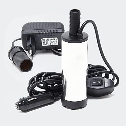 Mini Pumpe mit 12-15 l/min für Wasser und Dieselöl bei 8500 Upm, zum Ablassen von Flüssigkeit