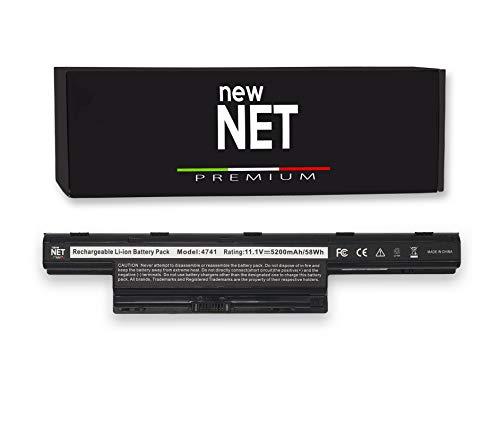 New Net Premium Batteria AS10D31 AS10D73 AS10D61 AS10D81 AS10D41 per Acer Aspire 5750G 5750 5742 5742G 5755G 5740G 5741G 5744 Travelmate 5742 5740 [Celle Alta QUALITA da 5200mAh]