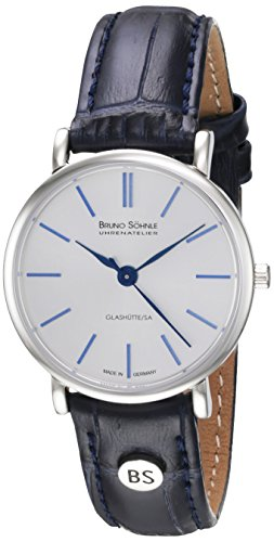 Bruno Söhnle Damen Analog Quarz Uhr mit Leder Armband 17-13045-243