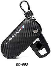 DYBANP - Funda para Llave de Coche BMW F30 F10 F20 X3 X1 X5 X6 (Piel y Fibra de Carbono)