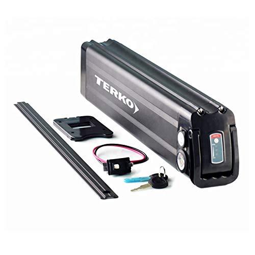 TERKO Ebike Battery - 48V 20Ah Electric Bike Battery for 1000W/750W/500W Arrow ebike Motor Bicycle - Lithium ion Battery Pack (48V 20AH)