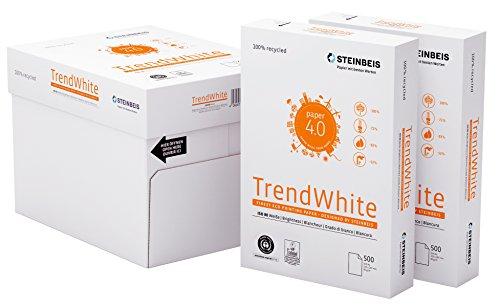 Steinbeis TrendWhite DIN A4 - 5 x 500 Blatt - weiß - Multifunktionspapier - 80 g / m²