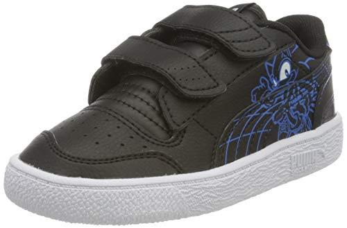 PUMA Unisex Baby SEGA Ralph Sampson V Inf Sneaker, Black-Palace Blue, 23 EU