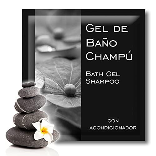 GPQ - Gel/Champú LUX 2en1 Amenities para Hotel en sobre monodosis (8gr. x 400 Und.)