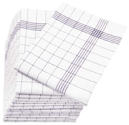 bon comparatif Set Zollner, 12 torchons en lin, gris blanc (autres disponibles), 60 x 80 cm un avis de 2021