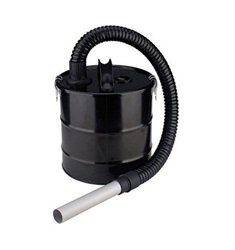 Filtro de cenizas AF de 18 – Contesta Eliminar la caliente cenizas y hollín – Cubo de metal con 18 L Capacidad – Longitud de la manguera: 1,2 m: Amazon.es: Bricolaje y herramientas
