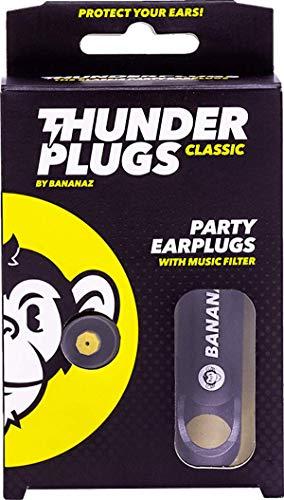 Bananaz音楽用イヤープロテクターThunderPlugsClassic(サンダープラグスクラシック)耳栓