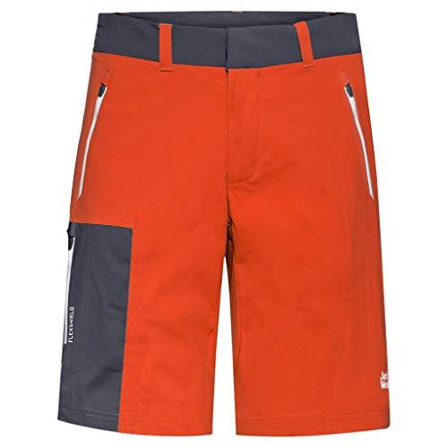 Jack Wolfskin Herren Overland Shorts, wild Brier, 52