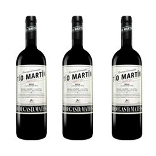 Tio Martin Crianza Vino Tinto - 3 botellas x 750ml - total: 2250 ml