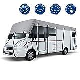 ECD Germany Bâche de Toit pour Caravane et Camping-car - 6,5 x 3 m - Taille L - Respirant - Résistant UV -...