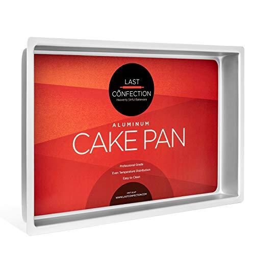 Last Confection 7' x 11' x 2' Deep Rectangular Aluminum Cake Pan - Professional Bakeware