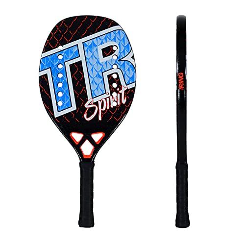 Top Ring Rachetta Beach Tennis Spirit - 100% Carbon 3K - Spessore 22 mm