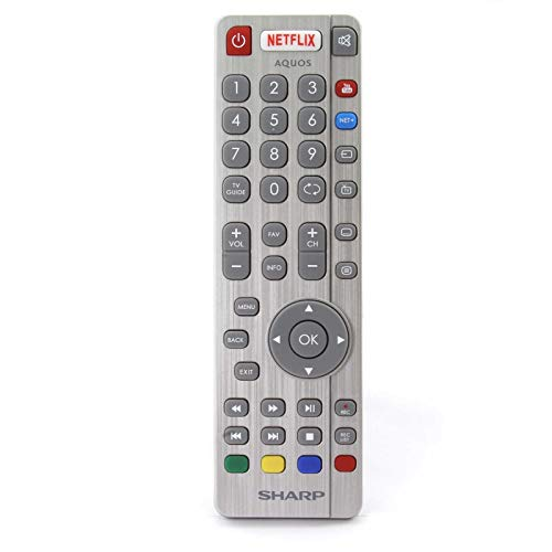 Original SHWRMC0116 SHW/RMC/0116 RF Fernbedienung Aquos Kompatibel mit Sharp TV LC32CHG6021K LC-49CUG8052KLC32CFG6241KF