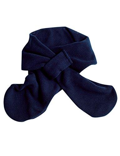maximo Baby-Jungen Steckschal Schal, Blau (Dunkelmarine 11), 1