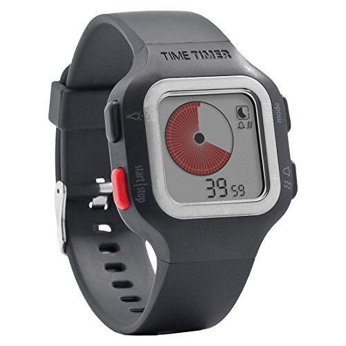 Time Timer Armbanduhr Erwachsene Dunkelgrau / Anthrazit