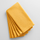 Mimosa Yellow Buffet Napkins Set of 6 | World Market