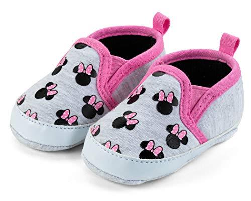 Disney Minnie Mouse Infant Soft Sole Slip-On Shoes - Size 3-6 Months