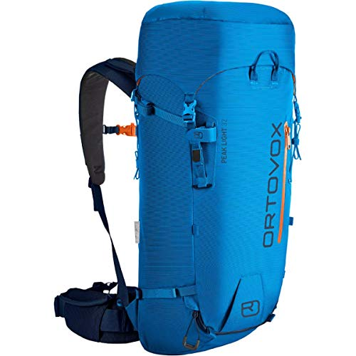 Ortovox Herren Peak Light 32 Hochtourenrucksack, Safety Blue, 32 Liter (27 x 62 x 16 cm)