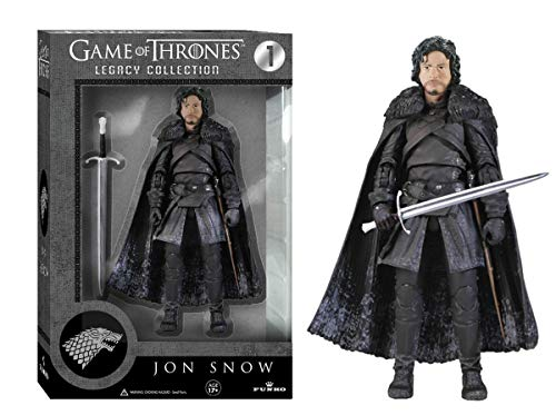 Funko 3908 Game of Thrones Toy - Jon Snow Deluxe Collectable Action Figure - Knights Watch