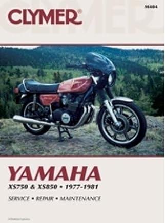 clymer repair manual for yamaha xs750 xs850 77-81