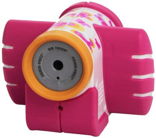 Fisher-Price Mattel - T5158 Camera Video - Antichoc - Rose