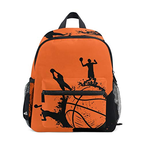 Mini Rugzak Dagtas Basketbal Speler Sport Pre-School Tas Lichtgewicht voor Meisjes Jongens Kids
