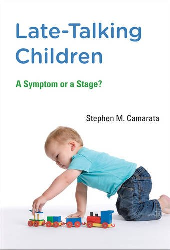 Late Talking Children A Symptom Or A Stage Mit Press