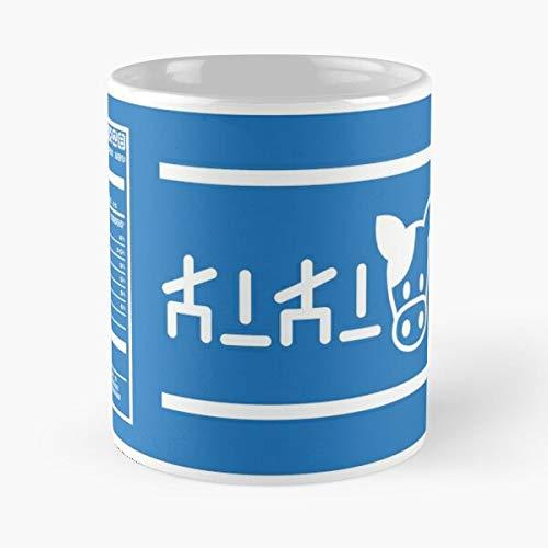 Breath The Cosplay of Sheikah Wild Zelda Link Lon Milk Best Taza de café de cerámica de 11 onzas