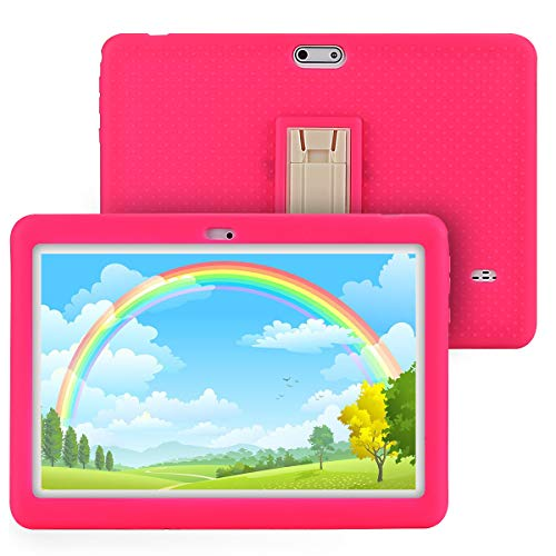 Tablet for Kids, Tagital T10K Kids Tablet 10.1 inch Display with WiFi, Bluetooth and Games, Kids Mode Pre-Installed, Quad Core Processor, WiFi Android Tablet (2019 Version)