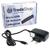 2A Hochleistungs Schnell-Ladegerät Netzteil Ladekabel Micro-USB für Medion E5008 Life E3501 E4005 E4502 E4503 E4504 E5001 E5005 E5006 E5020 P4013 P4310 P4501 P5001 P5004 P5005 P5006 P5015 S5004 S5504
