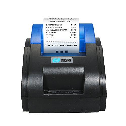 Docooler Etikettendrucker Hohe BT Qualität Drucker Qr Code Aufkleber Barcode Thermische Klebe Etiketten Drucker 58mm