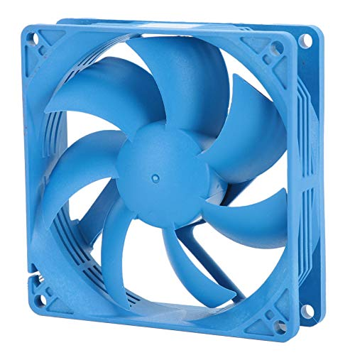PUSOKEI Ventilador de Caja silenciosa para PC, Ventilador de enfriamiento de PC de bajo Ruido, Gran Volumen de Aire 1500 RPM ± 10% Disipador de Calor de Caja de PC Ventilador de enfriamiento