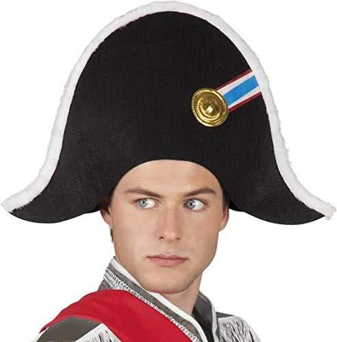 Hoed - Zwart - Steek - Napoleon - Met rozet