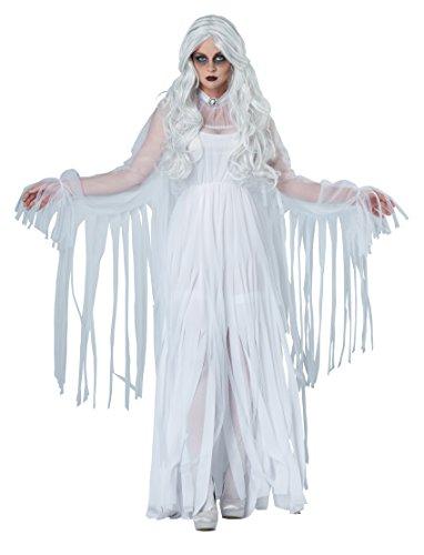 California Costumes Women's Ghostly Spirit, White, Large
