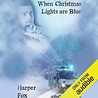 When Christmas Lights Are Blue audiobook cover art