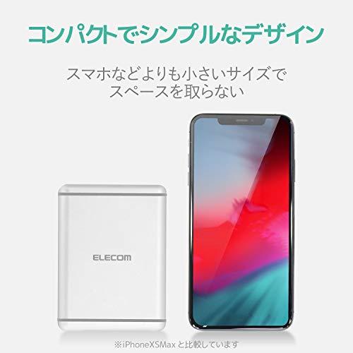 エレコムUSBコンセント充電器合計60WAポート×6【iPhone/Android/タブレット対応】ホワイトEC-ACD01WH