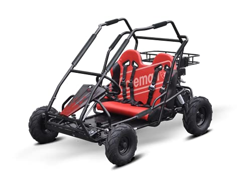 Coleman Powersports Off Road Go Kart | Gas Powered, 196cc/6.5hp, Red | KT196 model