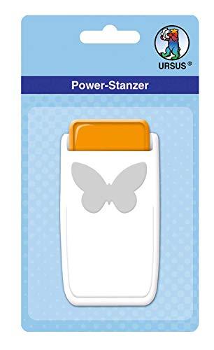 Power Stanzer cirkel, voor vele materialen zoals kurk, karton, schuimrubber, folie en kunststof 2,5 cm vlinder