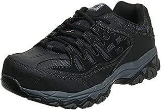 Skechers for Work Men's Cankton-U Industrial Shoe,black,12 2E US