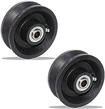 Set of 2 of V-Groove Wheel 4
